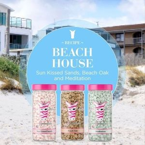 Pink Zebra Sprinkles 'Beach House'